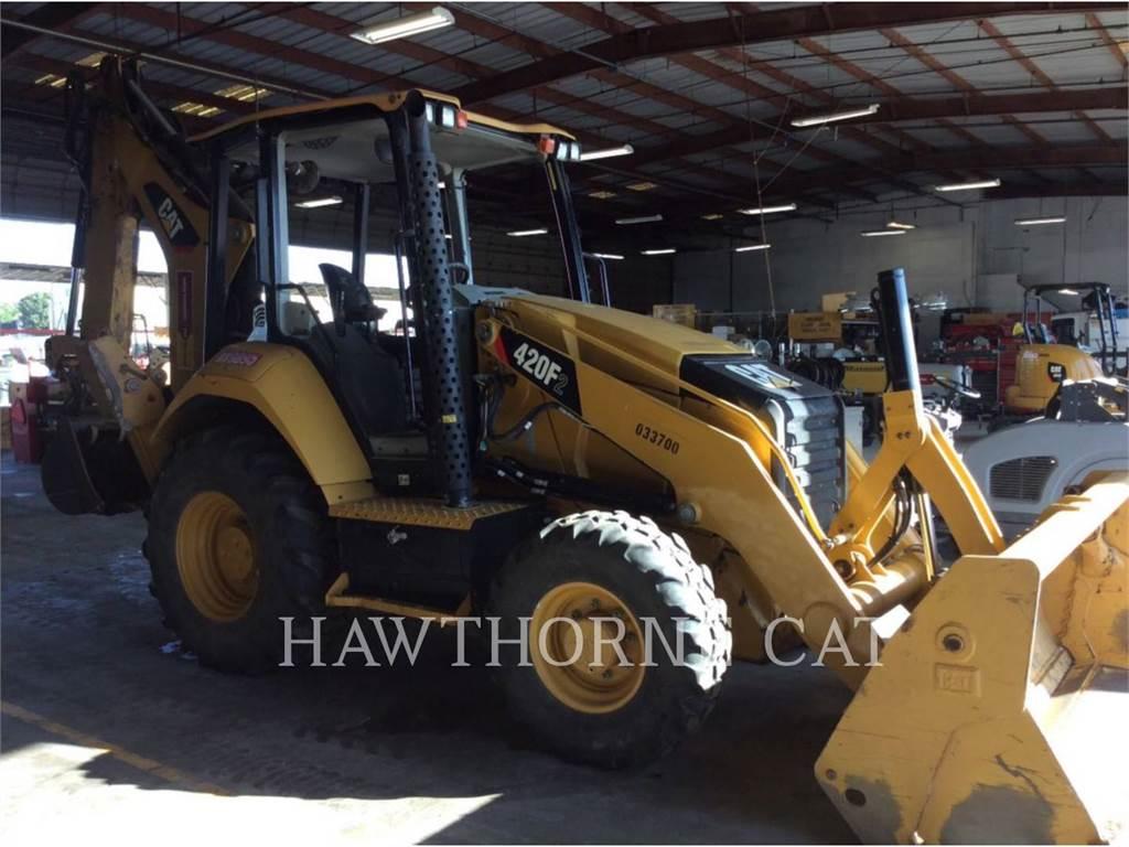 Caterpillar 420F2ST, backhoe loader, Construction
