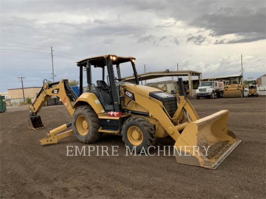 Caterpillar 420F2ST, koparko-ładowarki, Sprzęt budowlany