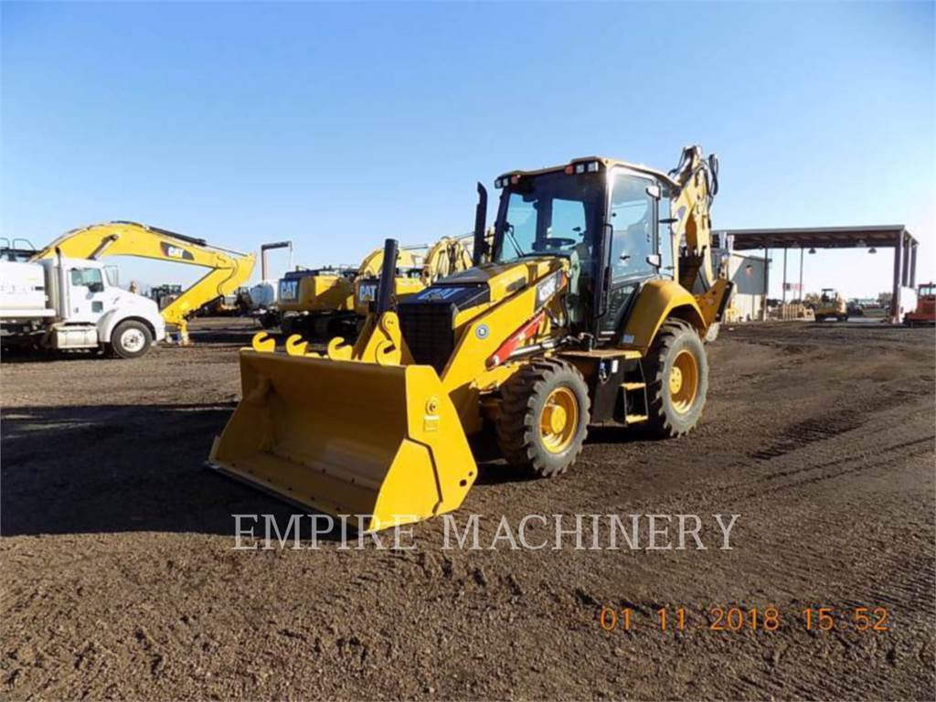 Caterpillar 420F2ST、バックホーローダ、建設