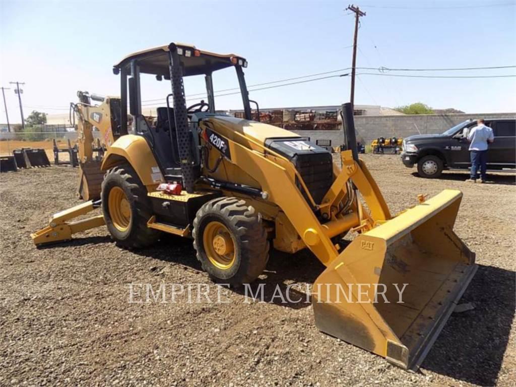 Caterpillar 420F2ST, retroescavadeiras, Equipamentos Construção