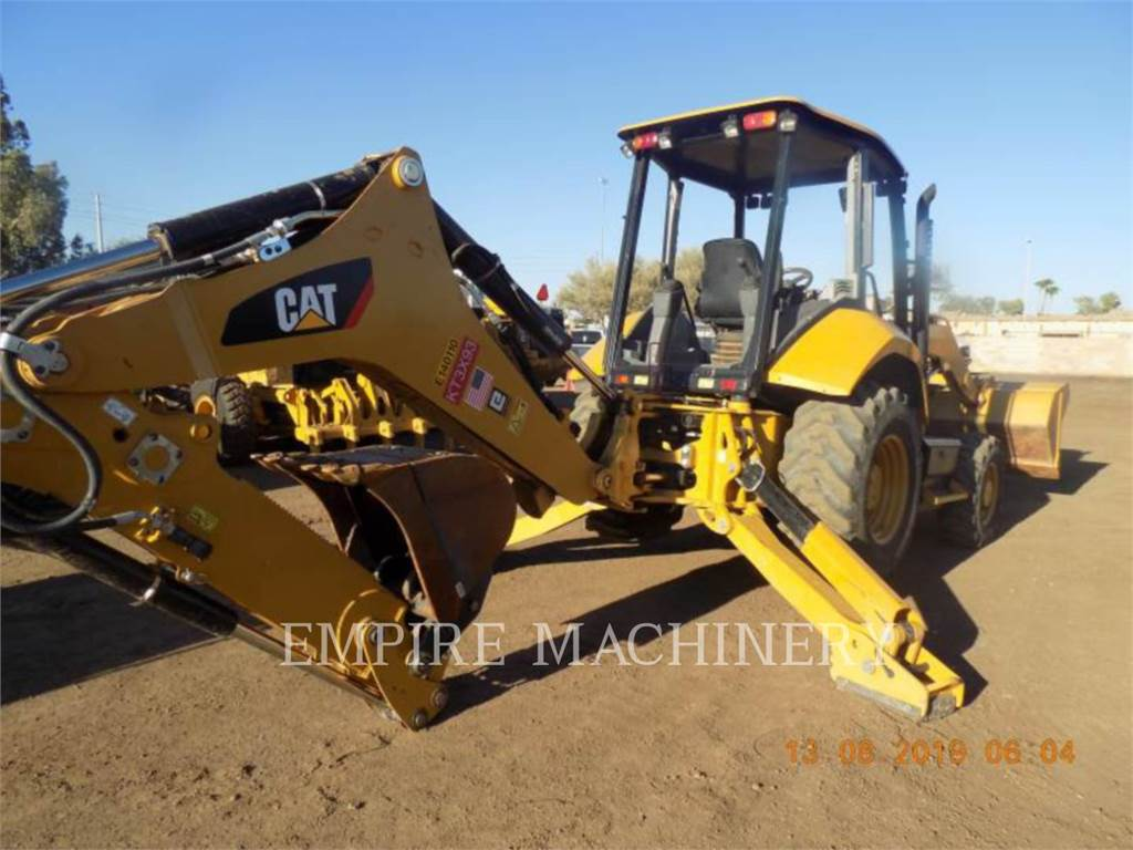 Caterpillar 420F2ST, retroexcavadoras cargadoras, Construcción