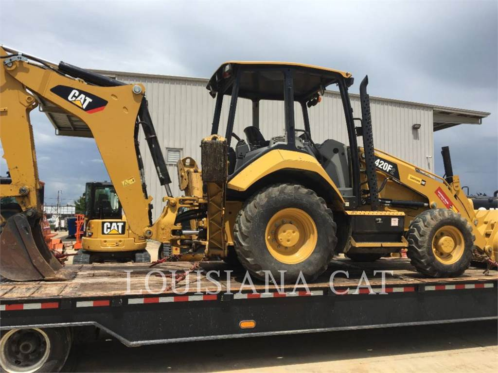 Caterpillar 420F2ST, backhoe loader, Construction
