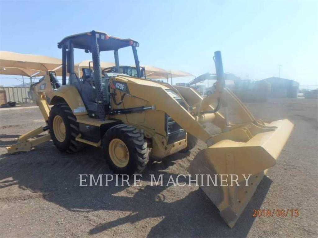 Caterpillar 420F2ST, baggerlader, Bau-Und Bergbauausrüstung