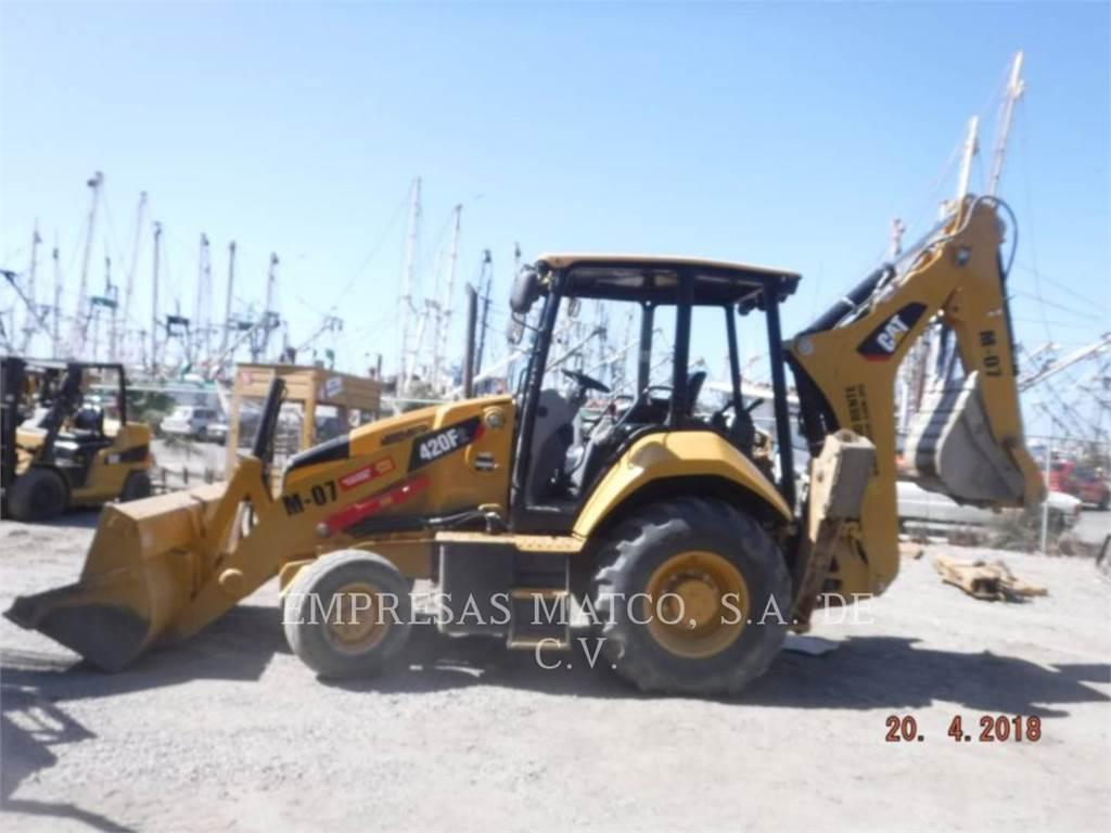 Caterpillar 420F2STLRC, baggerlader, Bau-Und Bergbauausrüstung