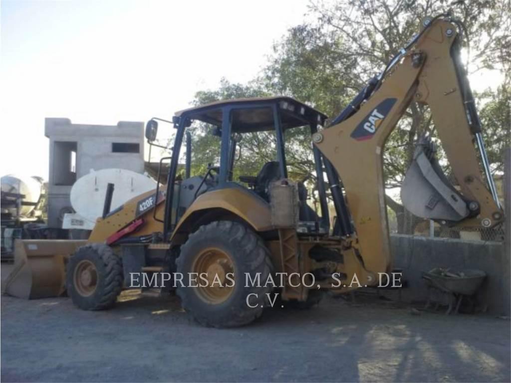 Caterpillar 420F2STLRC, backhoe loader, Construction