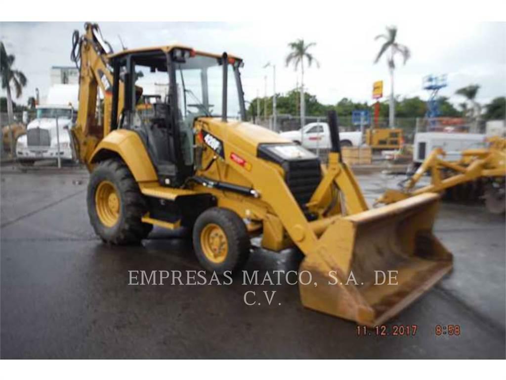 Caterpillar 420F2STLRC, buldoexcavatoare, Constructii