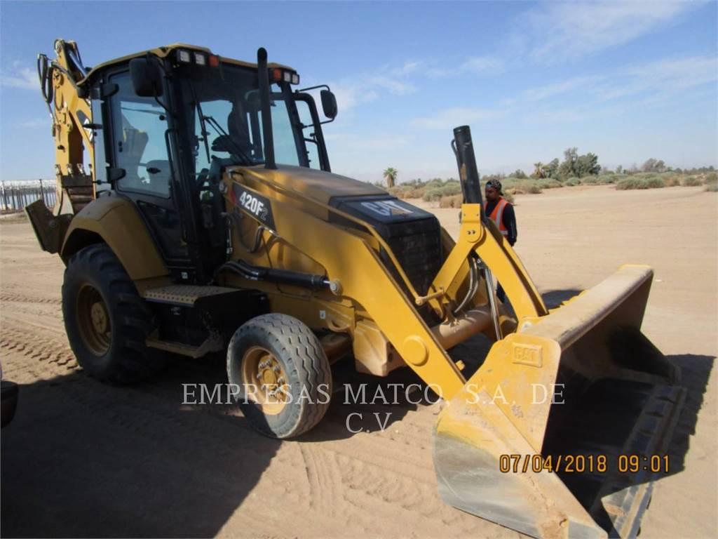 Caterpillar 420F2STLRC, chargeuses-pelleteuses, Équipement De Construction