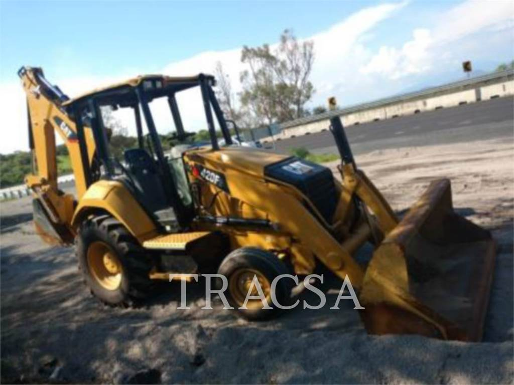 Caterpillar 420F2STLRC, backhoe loader, Construction