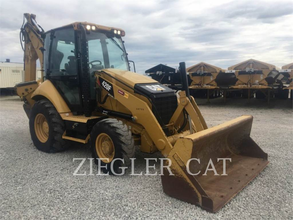 Caterpillar 420FH2, backhoe loader, Construction
