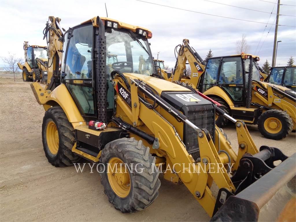 Caterpillar 420FIT, chargeuses-pelleteuses, Équipement De Construction