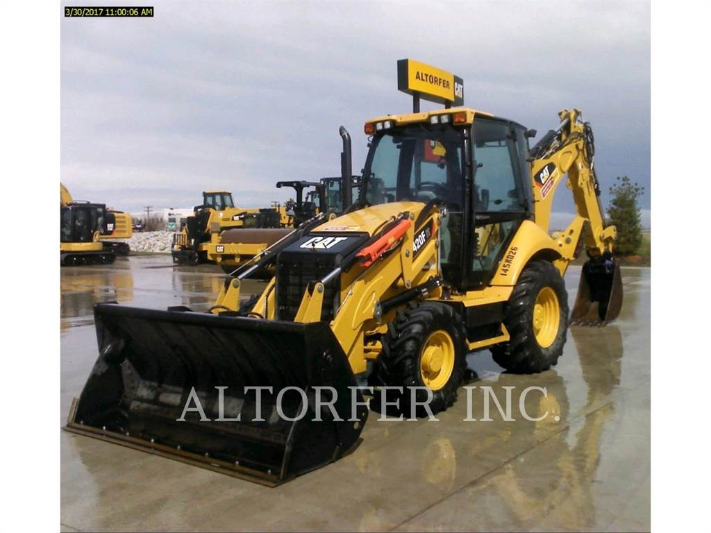 Caterpillar 420FIT, retroexcavadoras cargadoras, Construcción