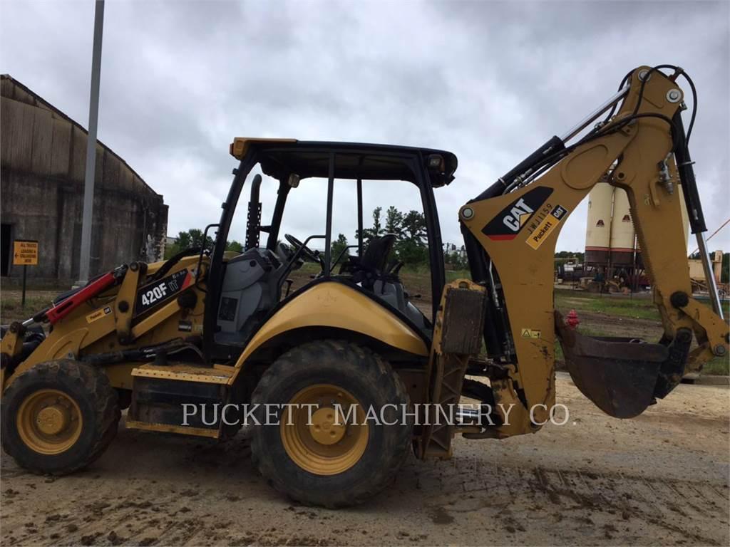 Caterpillar 420FIT, backhoe loader, Construction