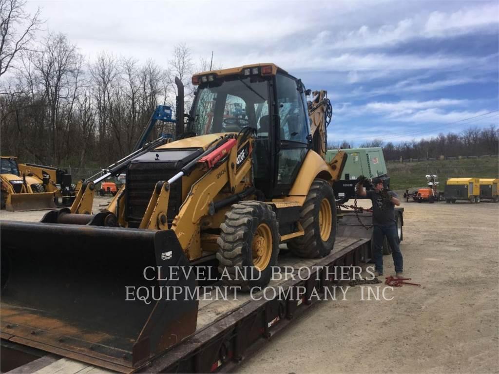 Caterpillar 420FIT, buldoexcavatoare, Constructii