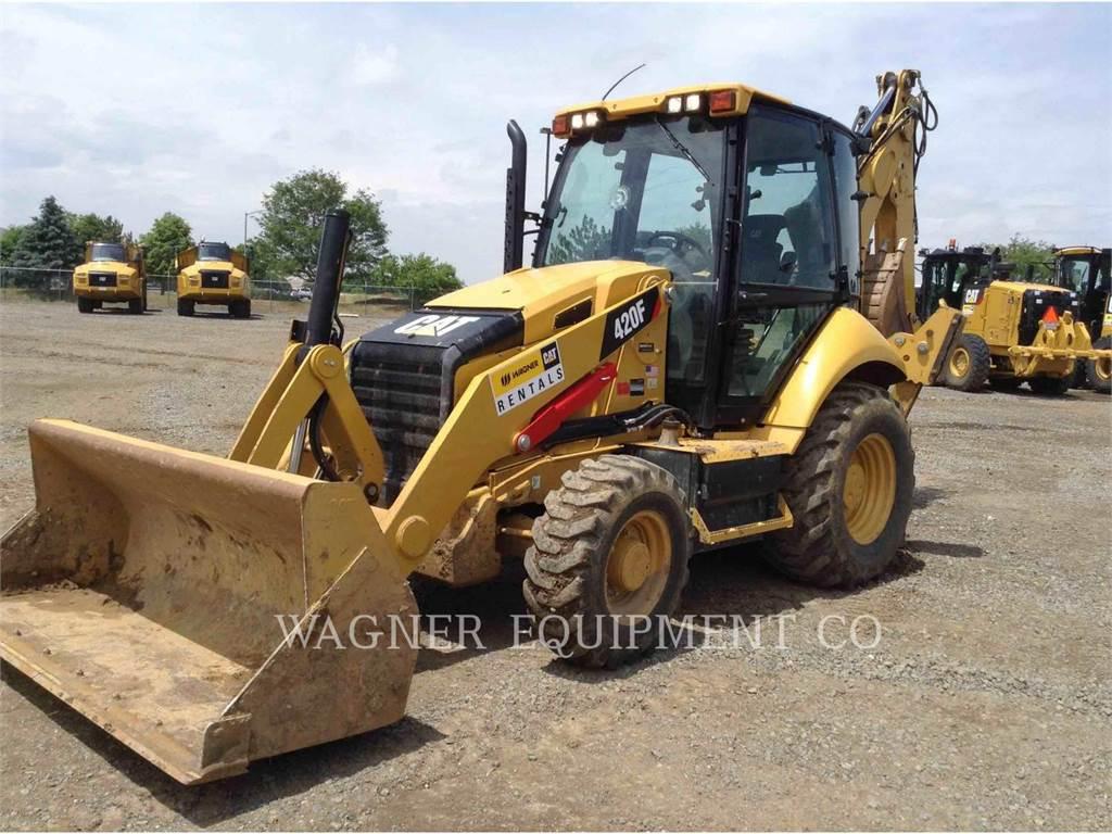 Caterpillar 420FST, baggerlader, Bau-Und Bergbauausrüstung