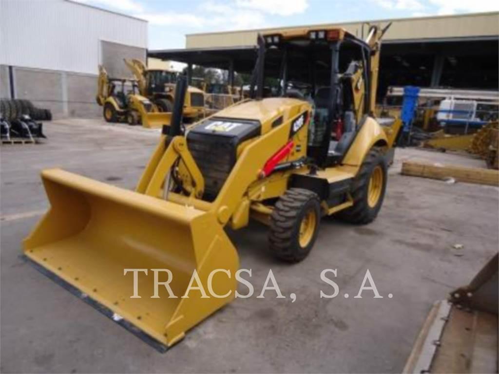 Caterpillar 420FST, retroexcavadoras cargadoras, Construcción
