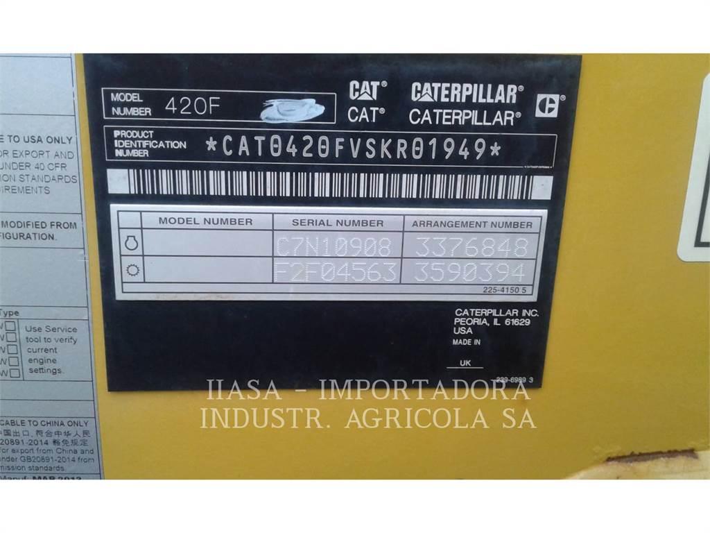 Caterpillar 420FST, terne, Attrezzature Da Costruzione