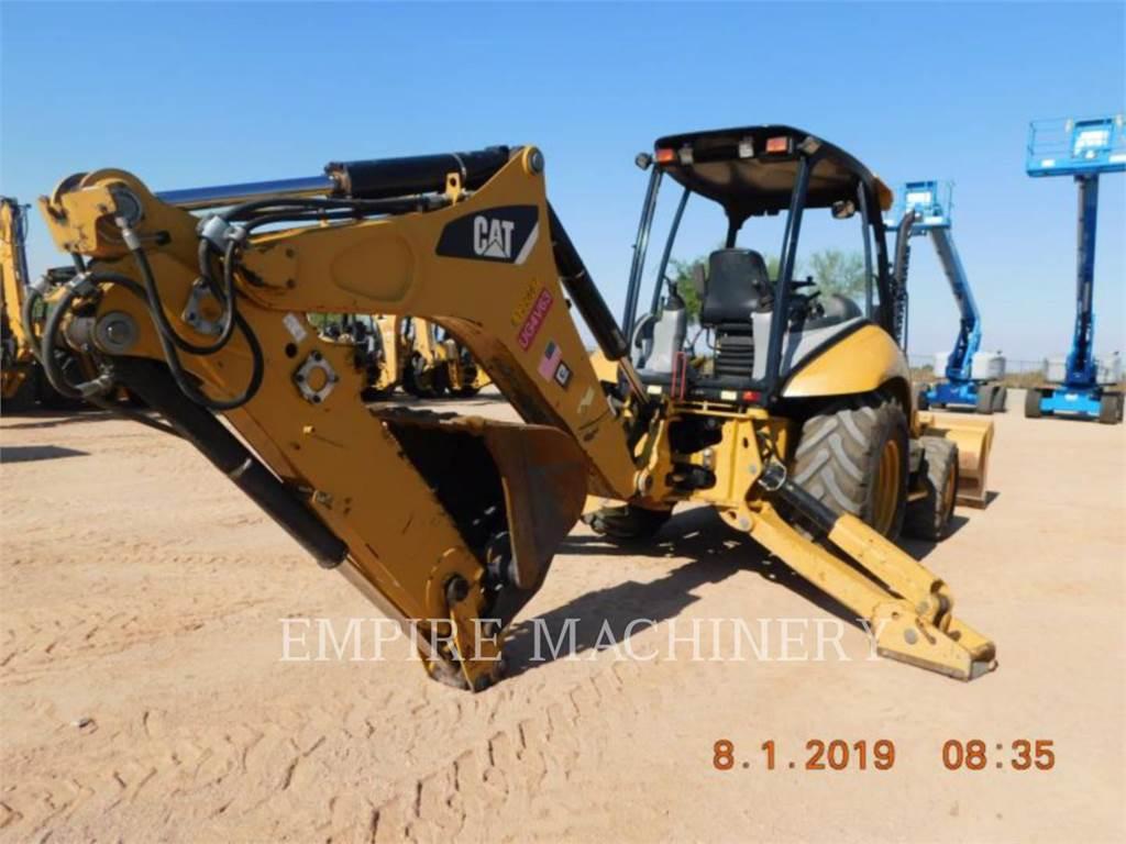 Caterpillar 420FST, koparko-ładowarki, Sprzęt budowlany