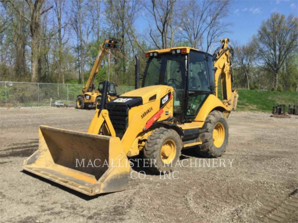 Caterpillar 420FST, backhoe loader, Construction