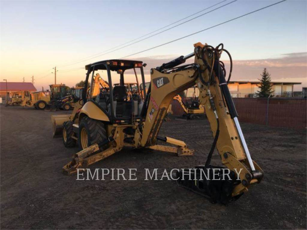 Caterpillar 420FST, backhoe loader, Construction