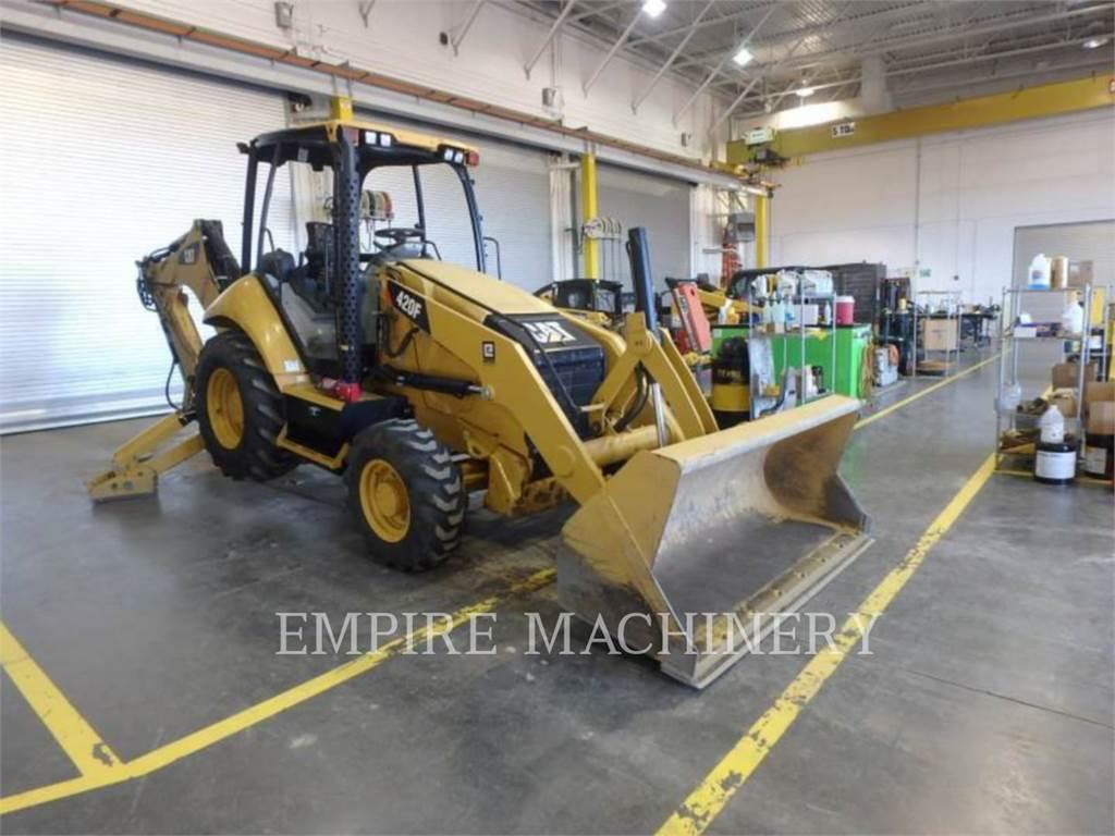 Caterpillar 420FST、バックホーローダ、建設