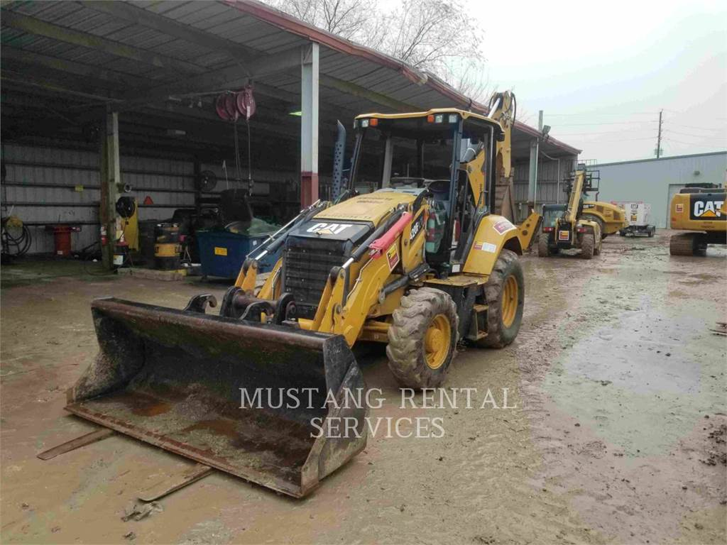 Caterpillar 420IT4WD, backhoe loader, Construction