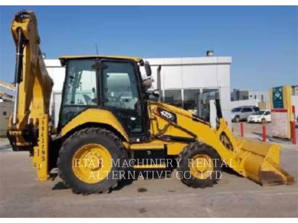 Caterpillar 422F2STLRC, koparko-ładowarki, Sprzęt budowlany