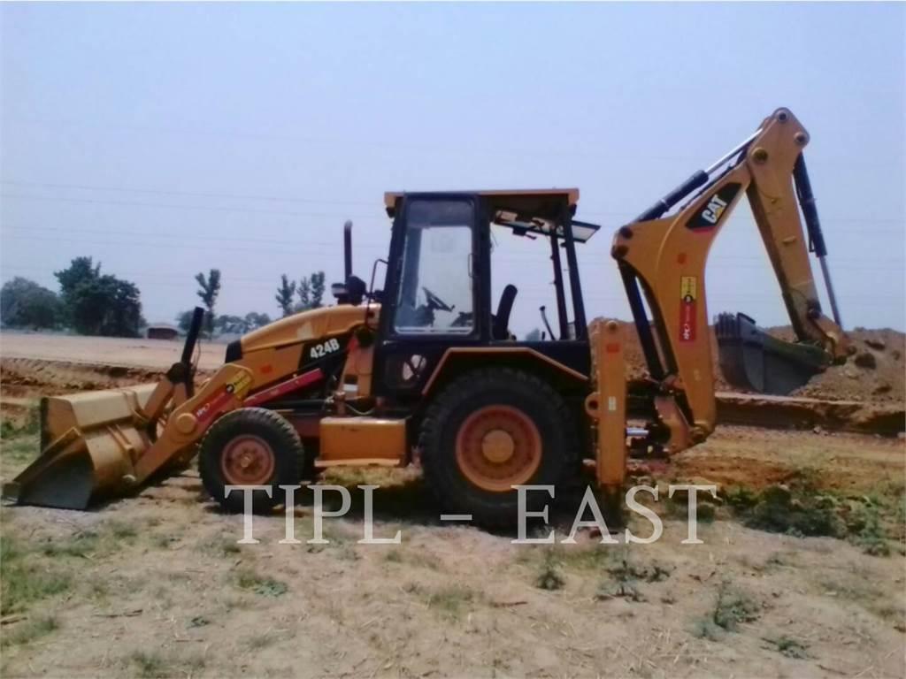 Caterpillar 424B, baggerlader, Bau-Und Bergbauausrüstung