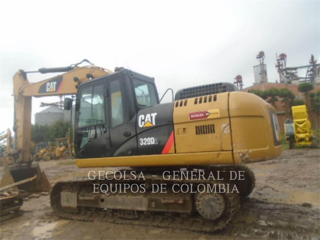 Caterpillar 4269, Excavatoare pe senile, Constructii