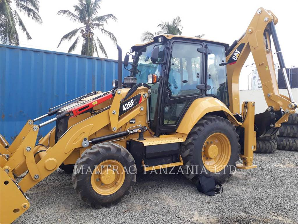 Caterpillar 426F2LRC, backhoe loader, Construction