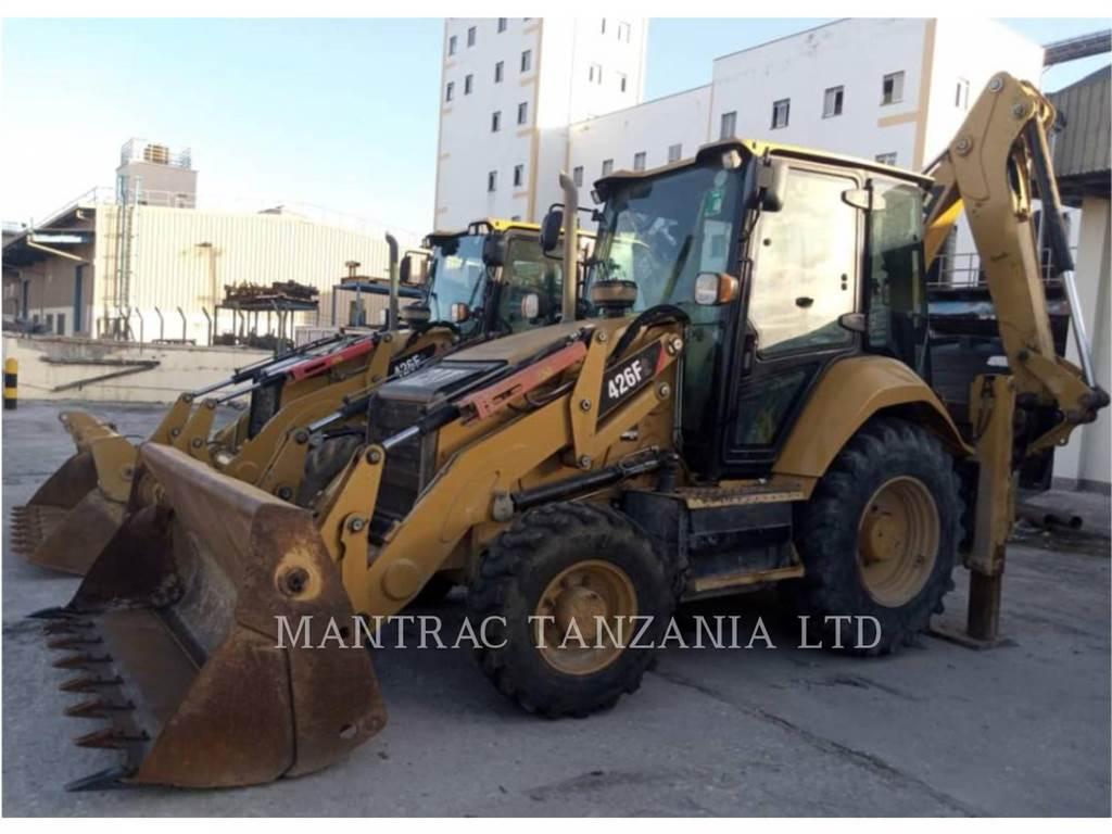 Caterpillar 426F2LRC, backhoe loader, Construction