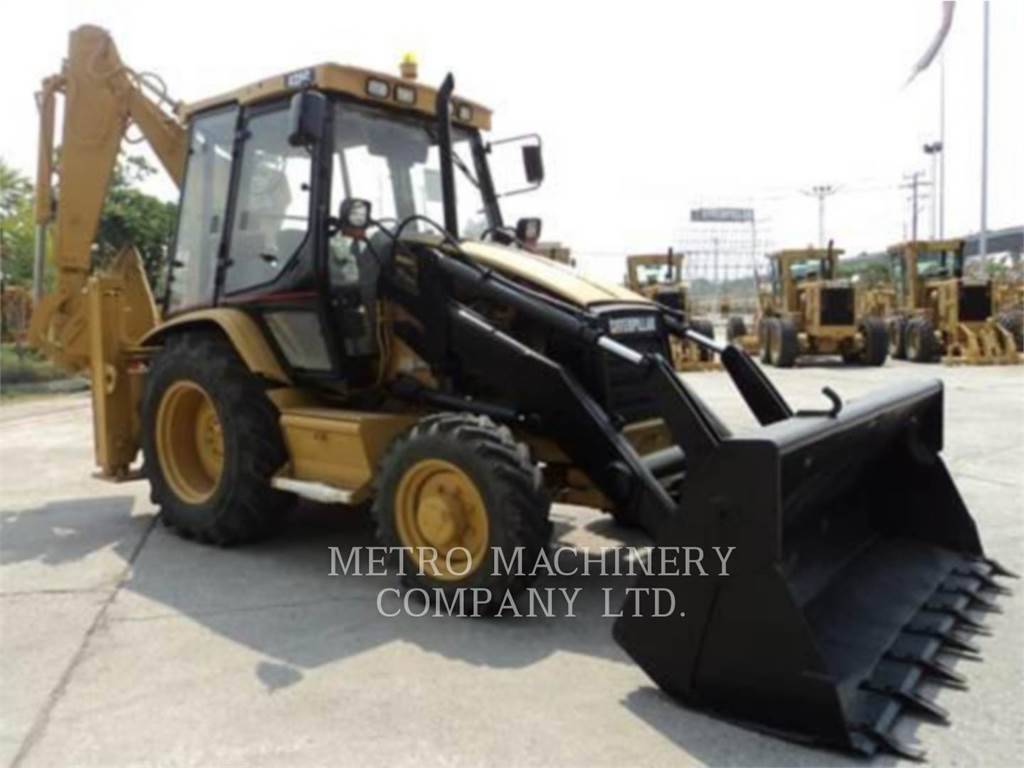 Caterpillar 428C, backhoe loader, Construction