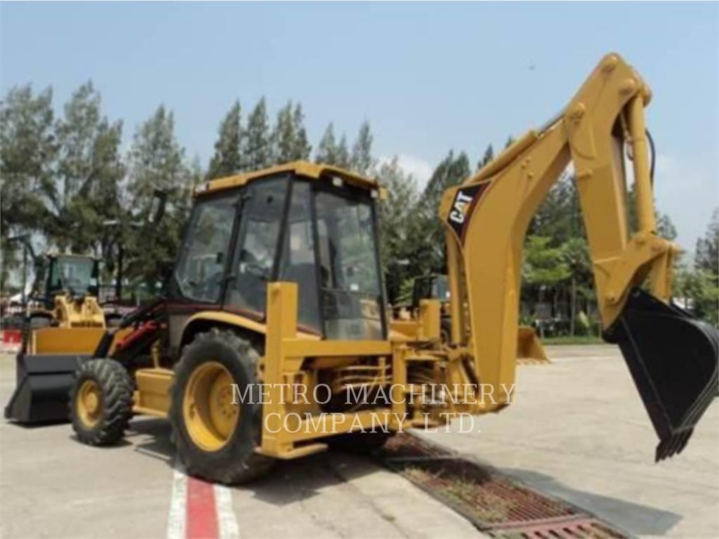 Caterpillar 428C, chargeuses-pelleteuses, Équipement De Construction