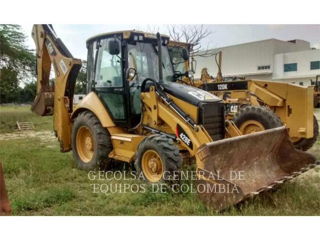 Caterpillar 428E、バックホーローダ、建設