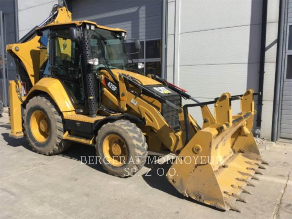 Caterpillar 428F2, koparko-ładowarki, Sprzęt budowlany