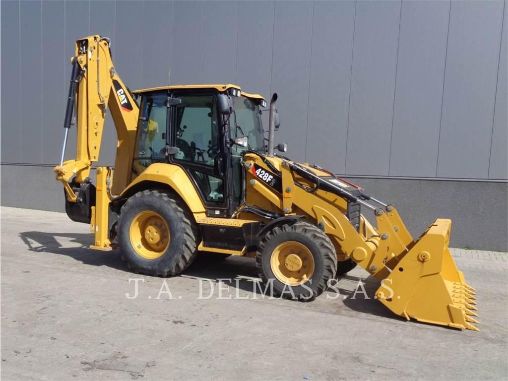 Caterpillar 428F2LRC, backhoe loader, Construction