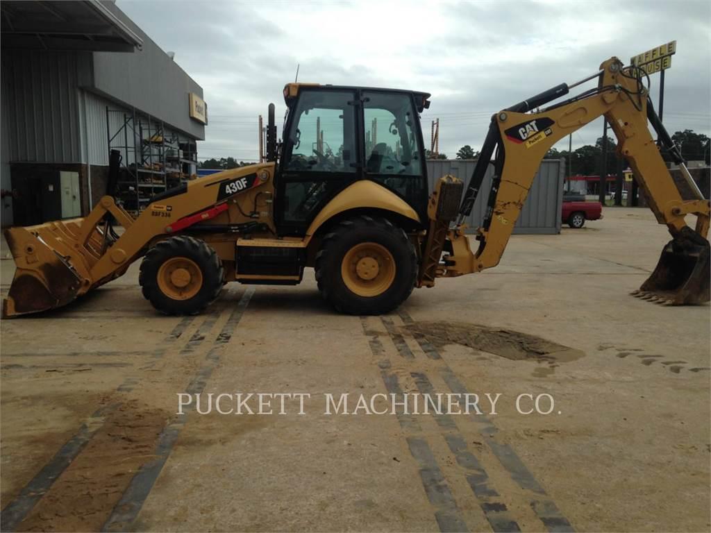 Caterpillar 430 F, backhoe loader, Construction