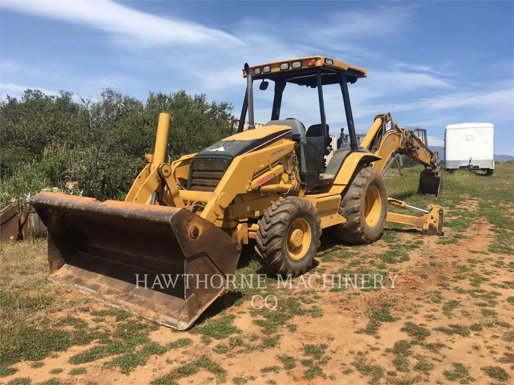 Caterpillar 430D、バックホーローダ、建設