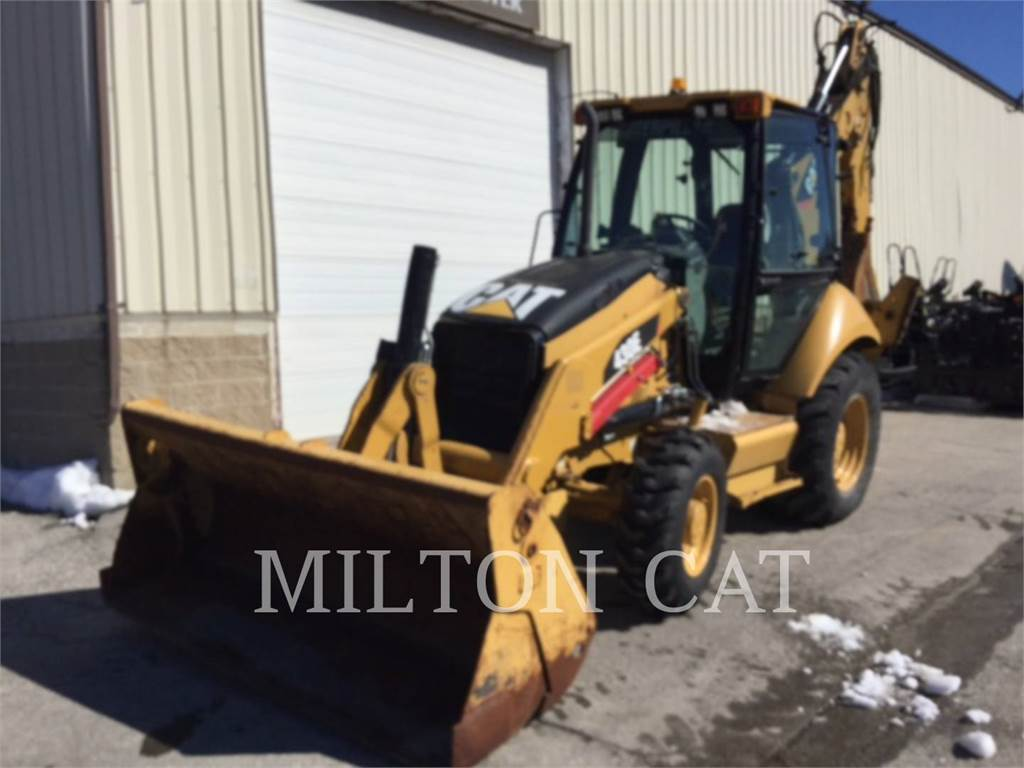 Caterpillar 430EST, backhoe loader, Construction