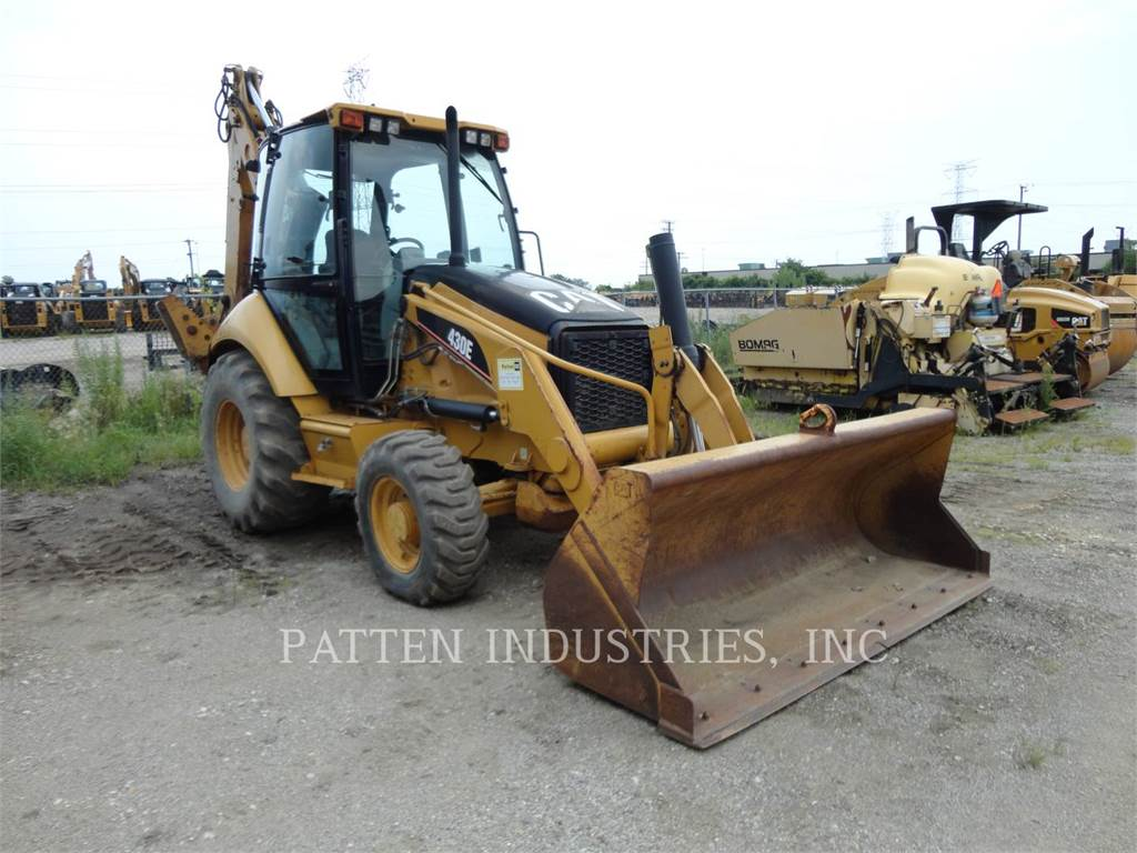 Caterpillar 430EST, backhoe loader, Construction