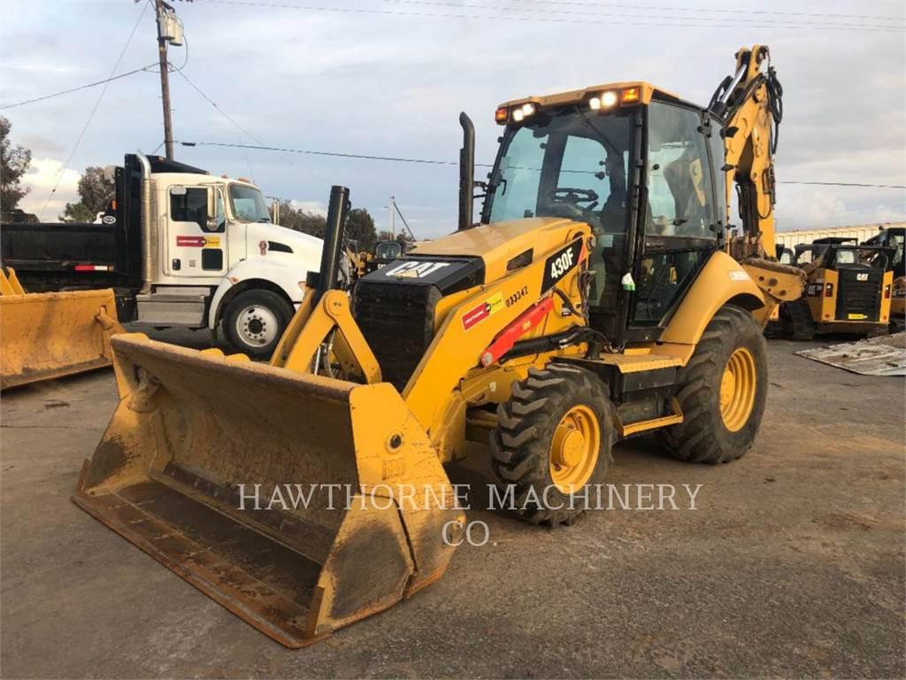 Caterpillar 430F, backhoe loader, Construction