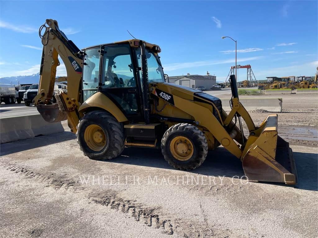 Caterpillar 430F E, backhoe loader, Construction