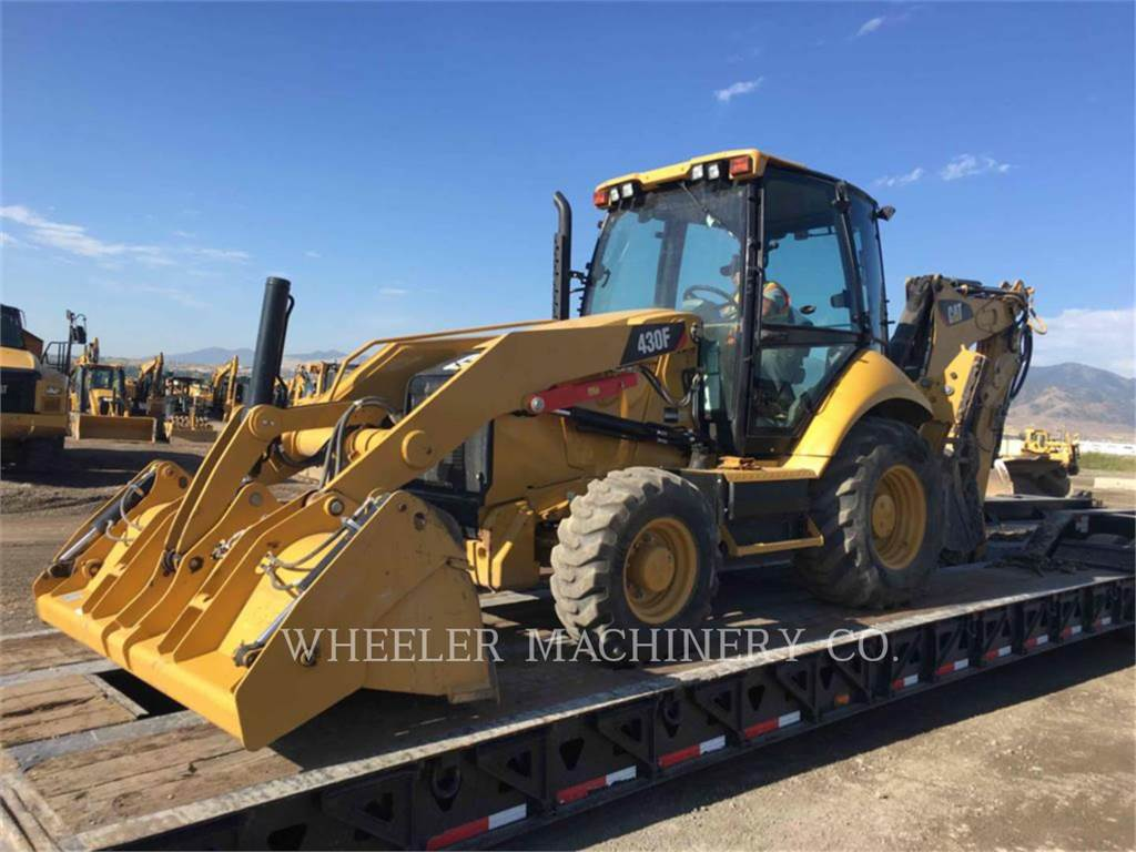 Caterpillar 430F E CF, backhoe loader, Construction