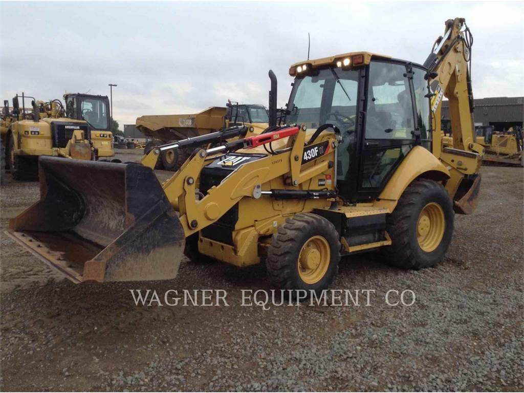 Caterpillar 430F IT4WE, chargeuses-pelleteuses, Équipement De Construction
