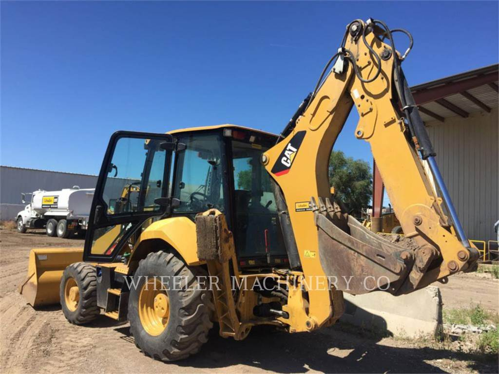Caterpillar 430F2 E, backhoe loader, Construction