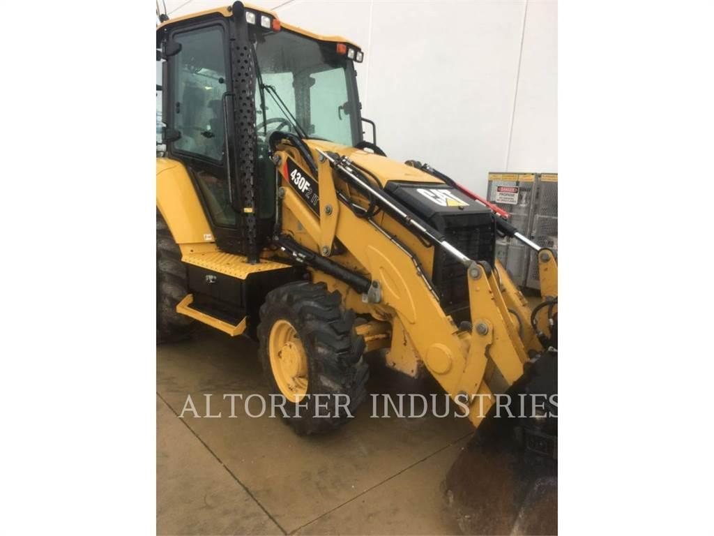 Caterpillar 430F2 IT, buldoexcavatoare, Constructii
