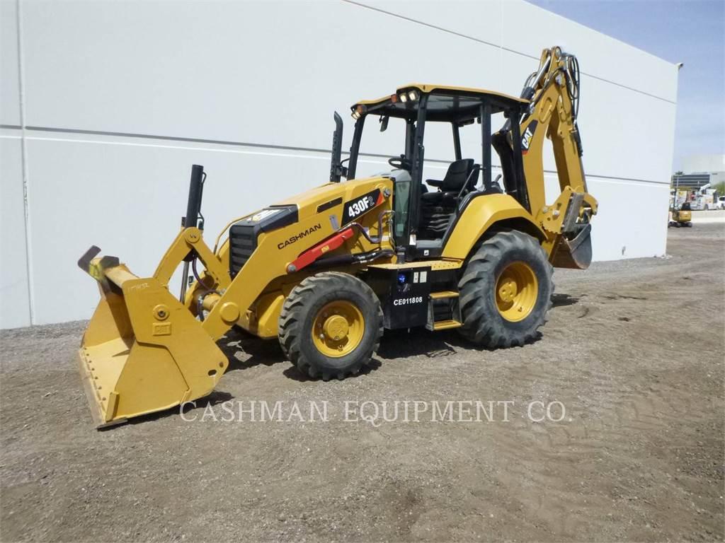 Caterpillar 430F2 ST, backhoe loader, Construction