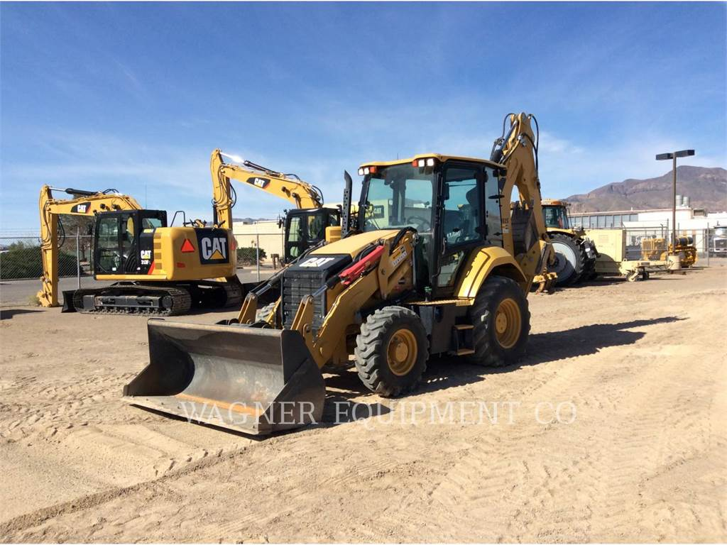Caterpillar 430F2IT, backhoe loader, Construction