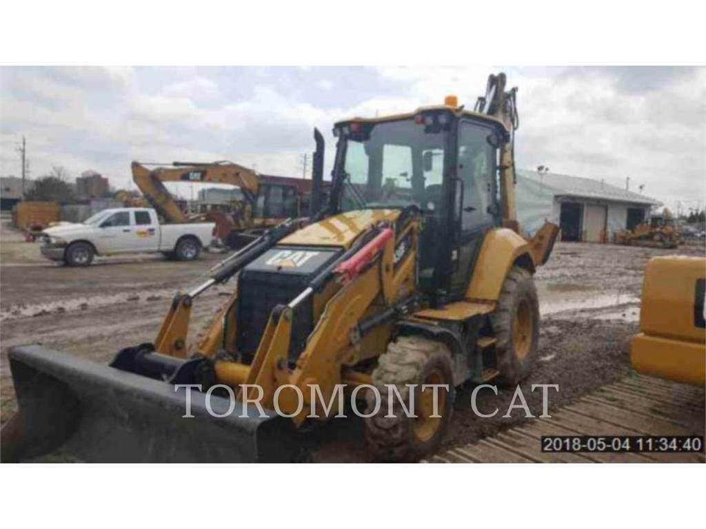 Caterpillar 430F2IT、バックホーローダ、建設
