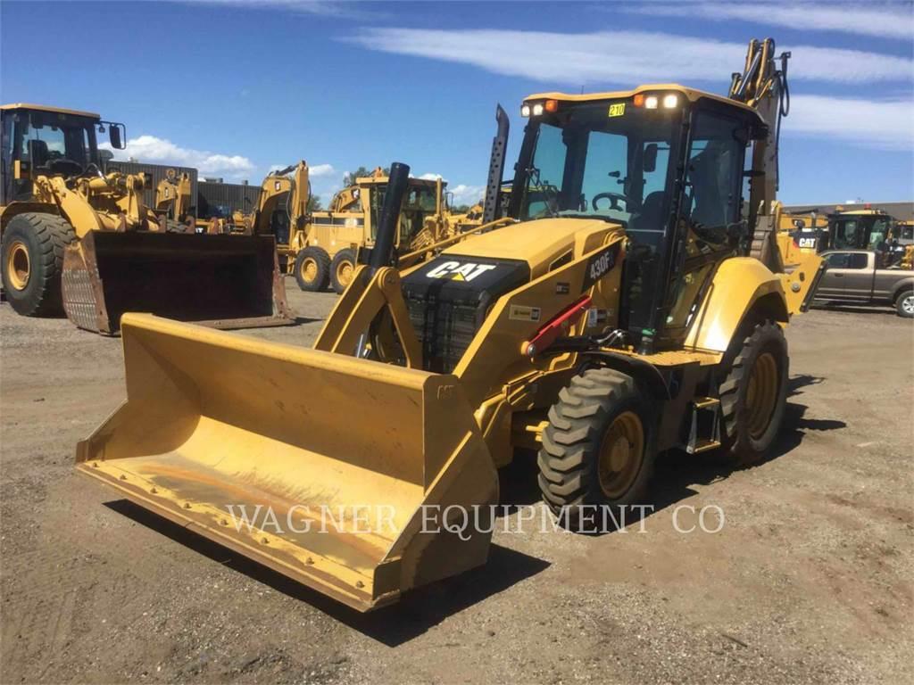 Caterpillar 430F2ST、バックホーローダ、建設
