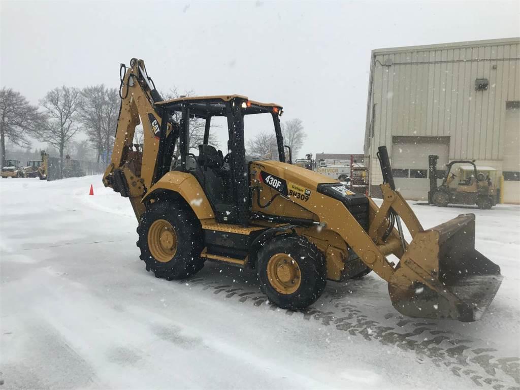 Caterpillar 430F2ST, backhoe loader, Construction